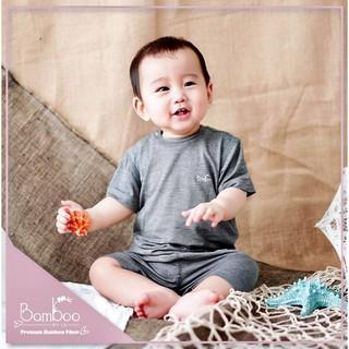 Bộ cộc tay cài vai Bamboo by LIL thumbnail