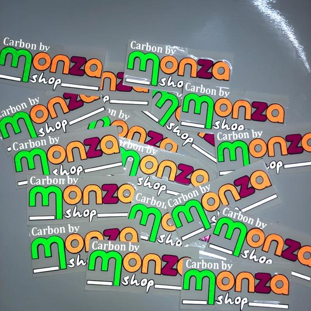 สติ๊กเกอร์ MONZA 3M สะท้อนแสง