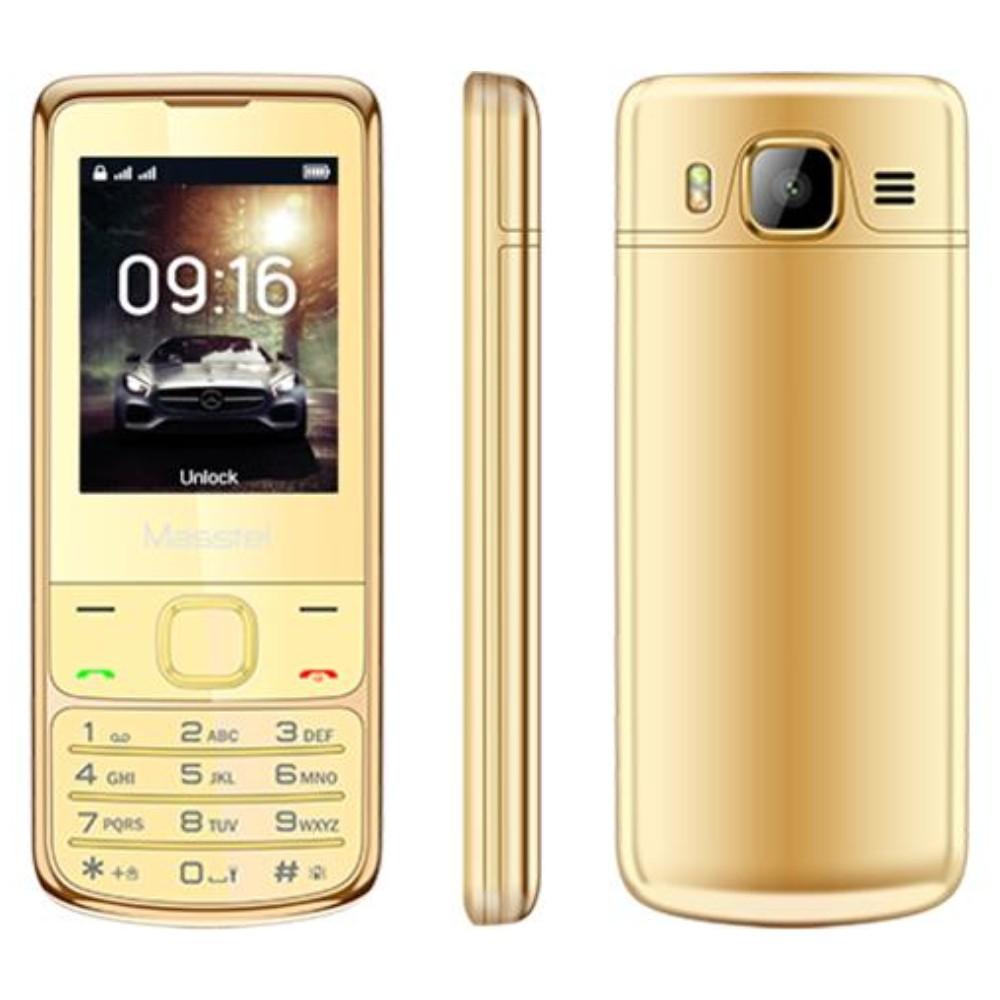 Điện thoại Masstel H860 mạ vàng 24K - Hãng phân phối chính thức - 3406582 , 731555625 , 322_731555625 , 1490000 , Dien-thoai-Masstel-H860-ma-vang-24K-Hang-phan-phoi-chinh-thuc-322_731555625 , shopee.vn , Điện thoại Masstel H860 mạ vàng 24K - Hãng phân phối chính thức