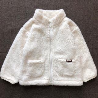 [Chất siêu đẹp] Áo khoác lông cừu Agabang xuất Hàn cho bé gái