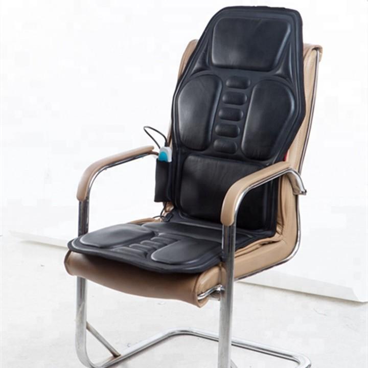 Nệm ghế massage, đệm ghế, lót ghế massage toàn thân trên ghế ô tô, trong nhà, văn phòng, hàng nhập khẩu chính hãng