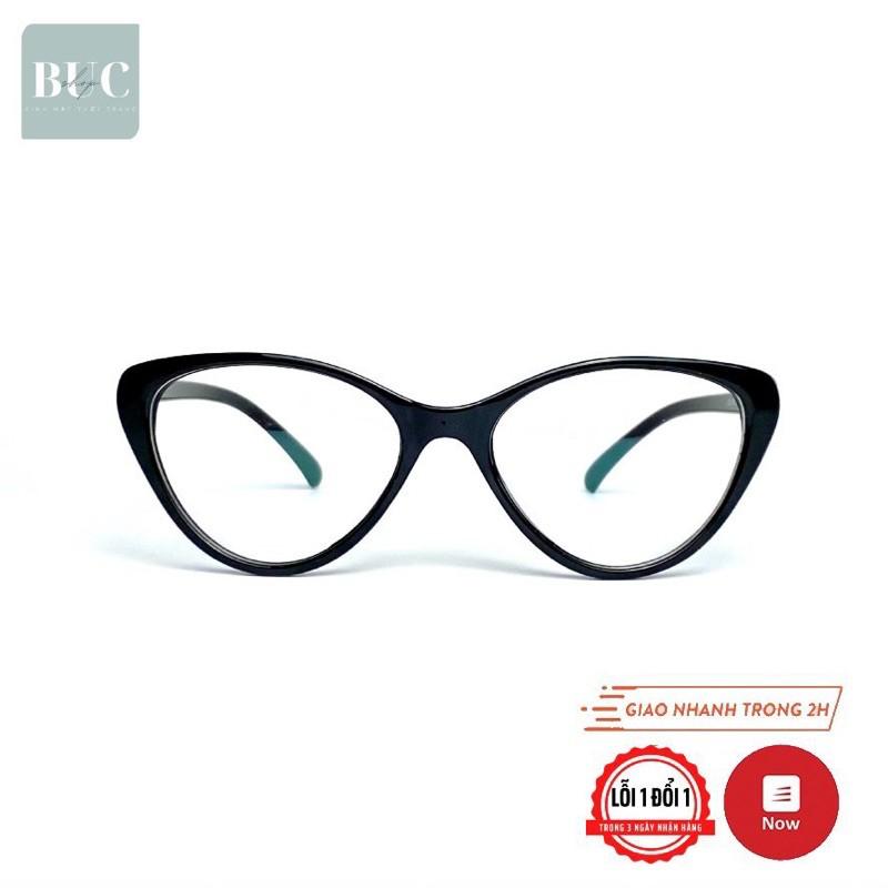 Gọng kính mắt mèo siêu dẻo 2383 BUCSHOP dành cho nam nữ