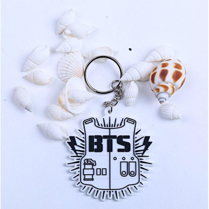 Móc khóa cao su BTS , BIGBANG , EXO , Luhan