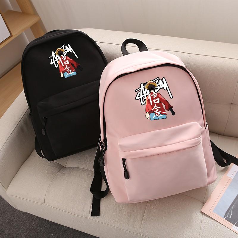 กระเป๋าเป้สะพายหลังกระเป๋านักเรียนแบบพกพา