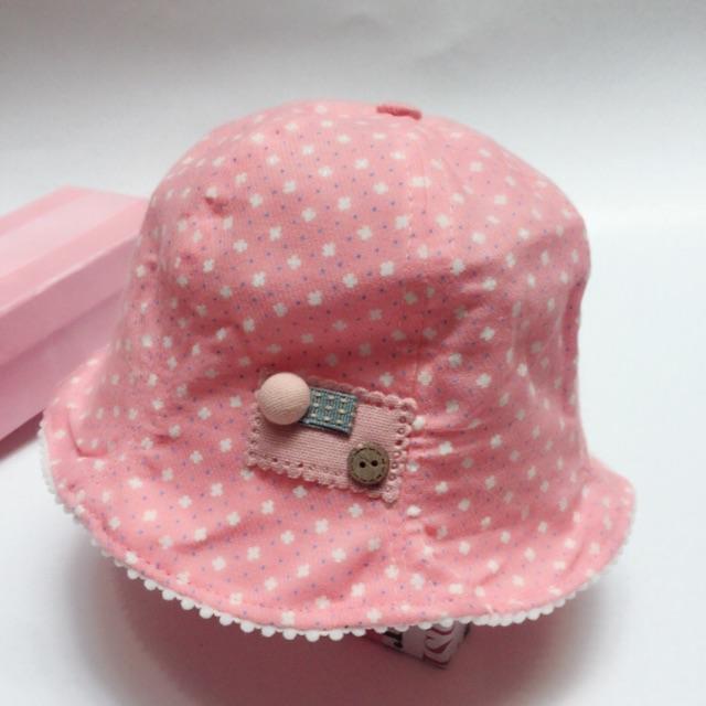 Mũ vải cho bé gái - 2913381 , 1172031091 , 322_1172031091 , 95000 , Mu-vai-cho-be-gai-322_1172031091 , shopee.vn , Mũ vải cho bé gái