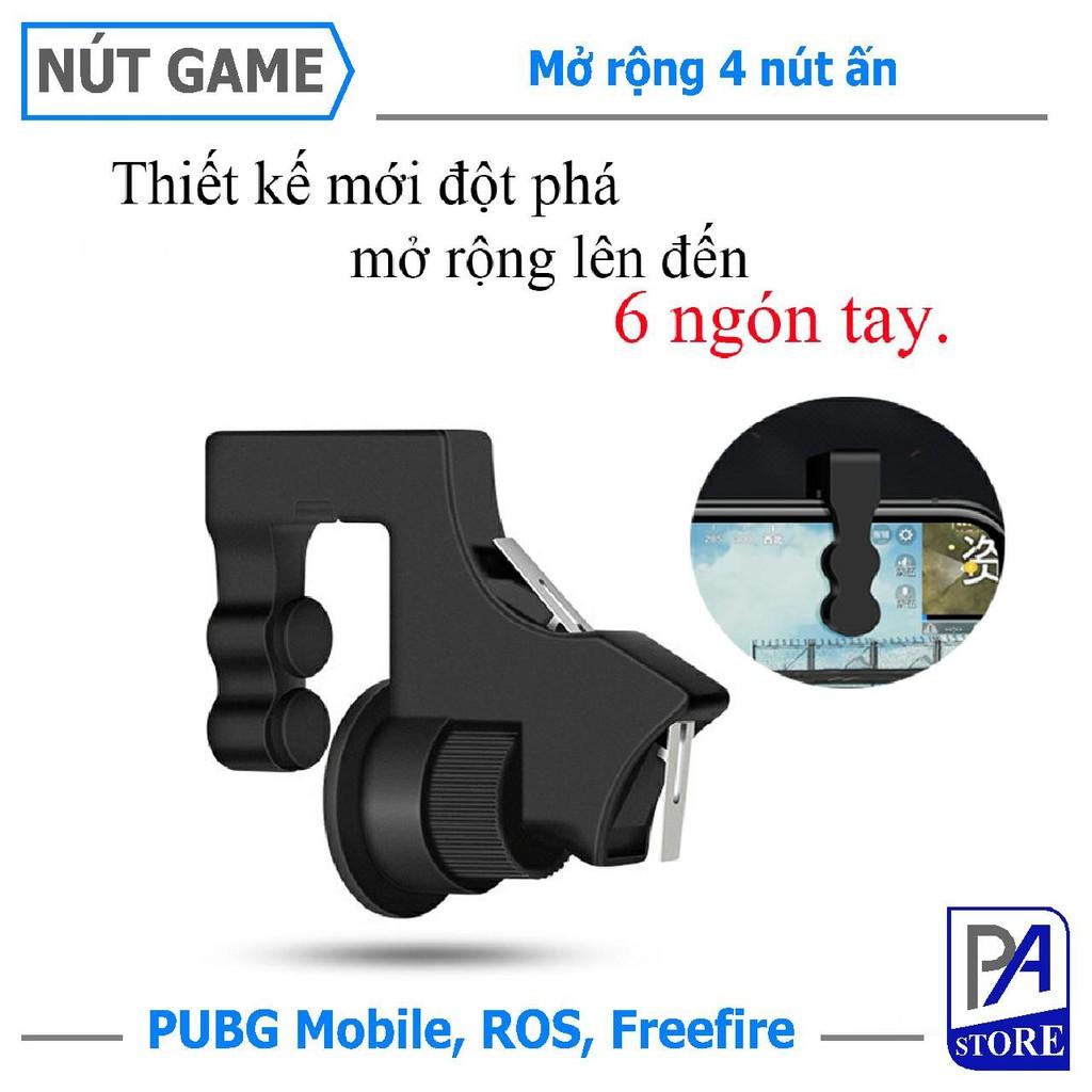 [MỚI] Nút Chơi Game PUBG, Freefire, Ros... 2 Nút Nhấn, Gấp Đôi Điểm Chạm, Loại Cao Cấp, Siêu Nhạy.