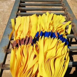 Dây ná cao su hiệu Preci 1 dây màu vàng đậm (dày 0.75mm size 13x20x200)