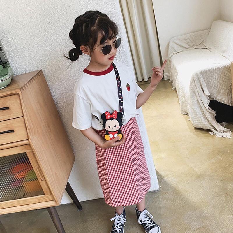 Túi Đeo Chéo Hoạt HÌnh Dễ Thương Cho Bé Trai Bé Gái - Túi Silicon cho bé Dumi Shop