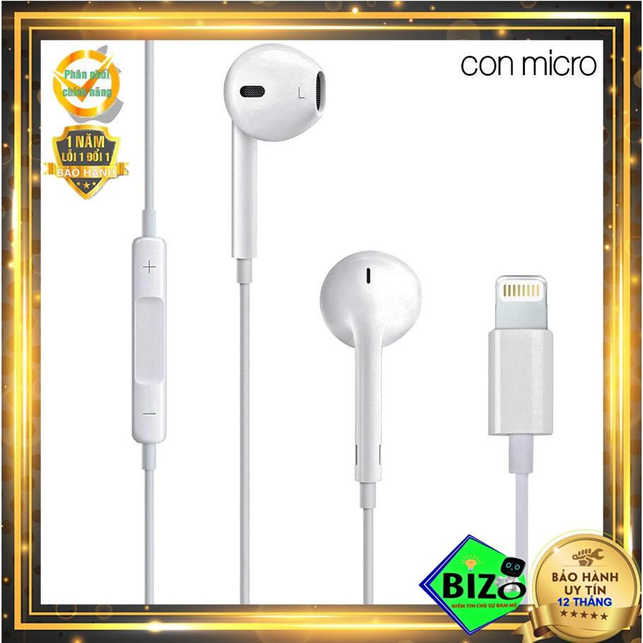BẢO HÀNH 24 THÁNG - KHÔNG ZIN HOÀN TIỀN] Tai nghe iphone X,Xs Chính hãng  Apple chân lightning - Tai nghe có dây nhét tai