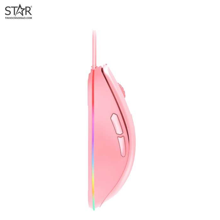 [Mã SKAMPUSHA7 giảm 8% đơn 250k]Chuột màu hồng DareU EM908 Queen Pink - hàng chính hãng Full Vat dailyphukien
