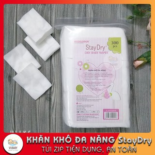 [Mã MKBCSALE1 giảm 8% đơn 250K] Khăn vải khô đa năng StayDry 300g hàng túi zip