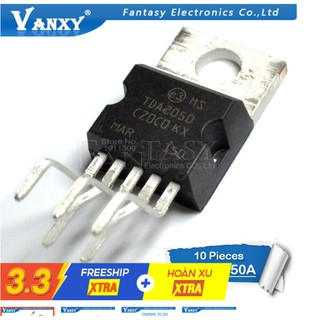 Bộ 10 Ic Tda2050A To220-5 Tda2050 To220 To-220 Chất Lượng Cao