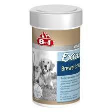 8in1 excel brewers yeast - Viên dưỡng lông chó mèo (50v)