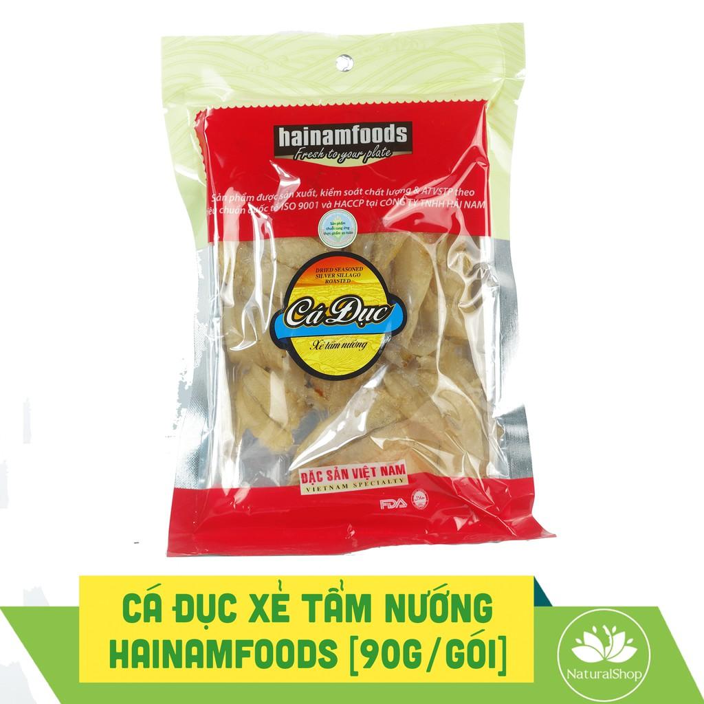 Cá đục xẻ tẩm nướng Hải Nam Food 90gram/gói - Đã có chứng nhận FDA Hoa Kỳ