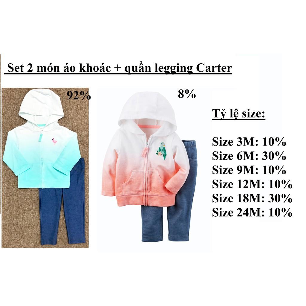 Set 2 món áo khoác + quần legging Carter ( sỉ ri 10 ) - msp : 1284 - 3500677 , 1174794438 , 322_1174794438 , 790000 , Set-2-mon-ao-khoac-quan-legging-Carter-si-ri-10-msp-1284-322_1174794438 , shopee.vn , Set 2 món áo khoác + quần legging Carter ( sỉ ri 10 ) - msp : 1284