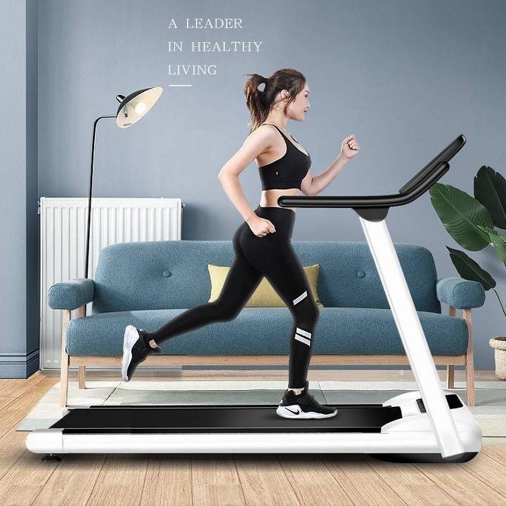 Máy chạy bộ xếp gọn ,mặt đồng hồ cảm ứng - Máy chạy tập thể dục