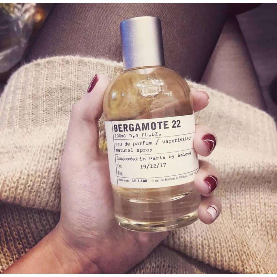 Mẫu thử]Nước hoa Le Labo - Bergamote 22 - | Shopee Việt Nam