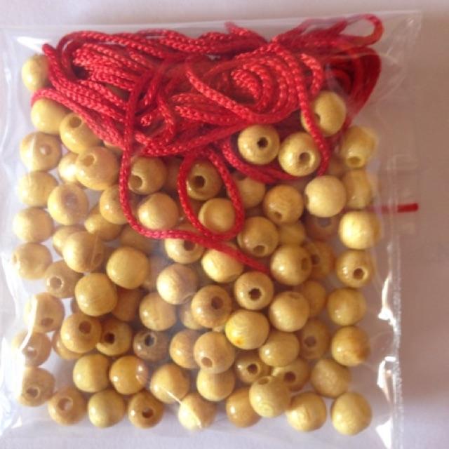 100 hạt dâu tằm + 3m dây