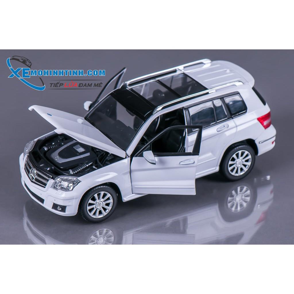 Xe Mô Hình Mercedes-Benz Glk Class 1:24 Rastar (Trắng)