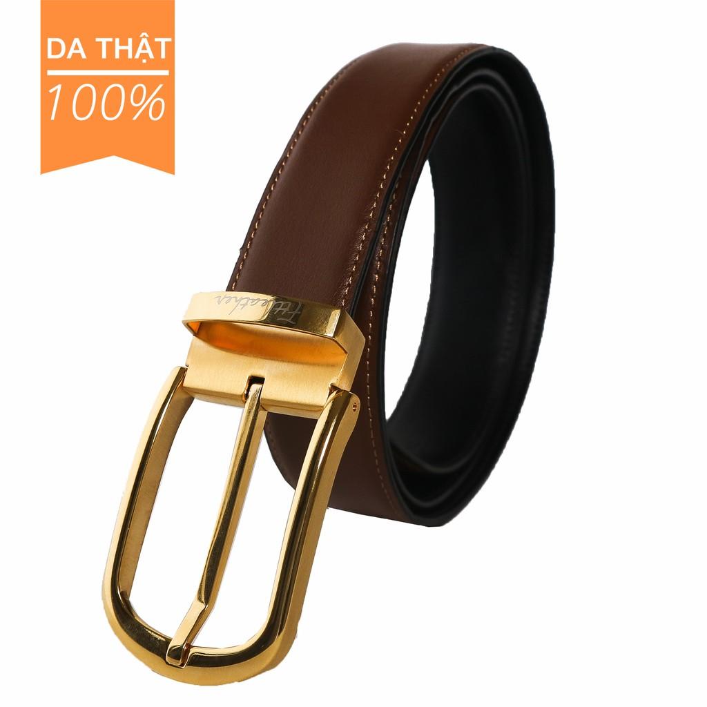 Thắt lưng nam da bò FTT Leather mã DLCC112