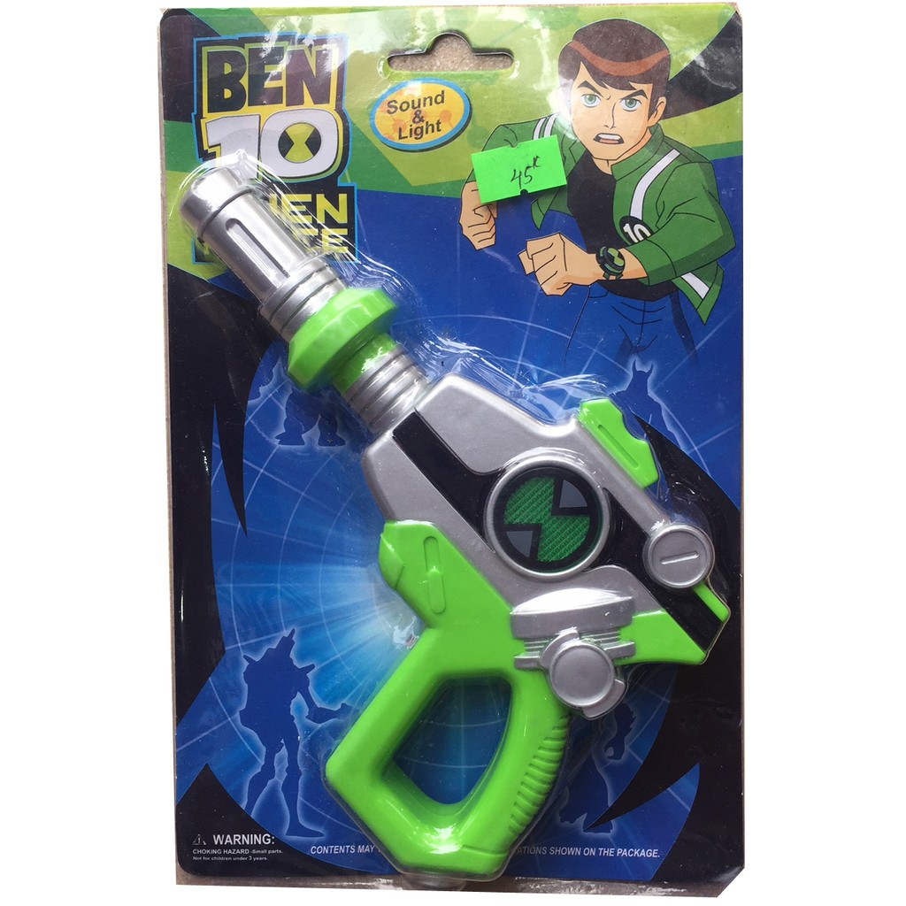 Súng Ben 10 có nhạc đèn lắp sẵn pin - 3097278 , 1044716571 , 322_1044716571 , 45000 , Sung-Ben-10-co-nhac-den-lap-san-pin-322_1044716571 , shopee.vn , Súng Ben 10 có nhạc đèn lắp sẵn pin