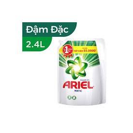Nước giặt Ariel Đậm đặc túi 2,4lít