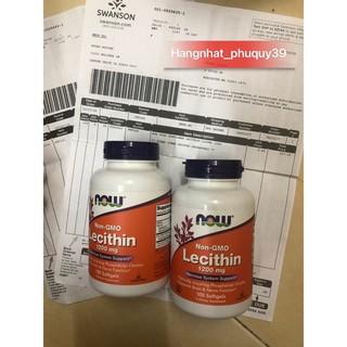 chống tắc tia sữa Lecithin 1200mg NON-GMO chiết xuất từ đậu nành không biến đổi gen (dành cho mẹ sinh bé gái)