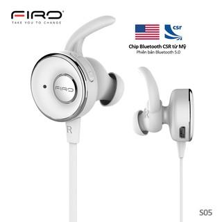 Tai Nghe Bluetooth Không Dây Thiết kế Thể Thao Âm Thanh HD Bass Hay. Bluetooth V5 Bảo Hành 1 Năm Firo S05