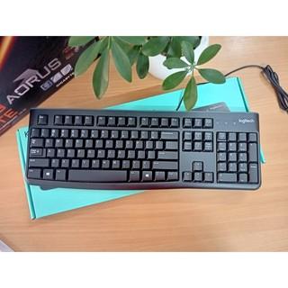 Bàn phím máy tính Logitech K120 - Bàn phím máy tính có dây Usb Logitech - BH 36T thumbnail