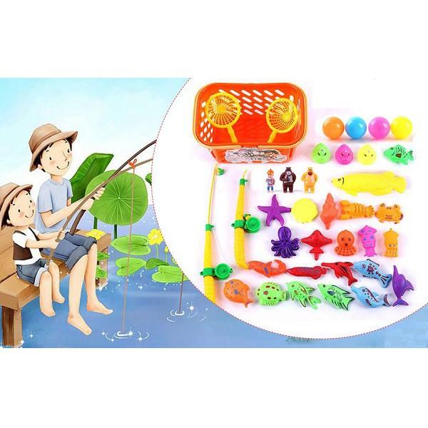Bộ Bể phao câu cá 2 cần cho bé- Đồ chơi câu cá nam châm cho bé - 14531064 , 2042156882 , 322_2042156882 , 79000 , Bo-Be-phao-cau-ca-2-can-cho-be-Do-choi-cau-ca-nam-cham-cho-be-322_2042156882 , shopee.vn , Bộ Bể phao câu cá 2 cần cho bé- Đồ chơi câu cá nam châm cho bé
