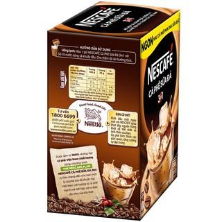 Hình ảnh [HN] Hộp 10 gói x 20g NESCAFE Café Cà phê sữa đá-1