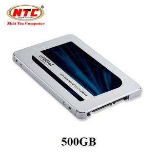 Ổ cứng SSD Crucial MX500 3D NAND SATA III 2.5 inch 500GB (Xanh) thumbnail