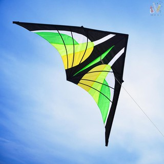 ❤RCC❤Colorful Huge Delta Kite Outdoor Sport Single Line Flying Kite with 30m Flying Line for Kids Ad