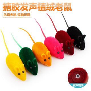 chuột nhựa đồ chơi 6×2.5cm