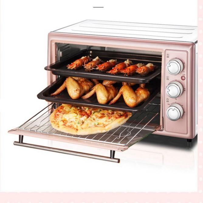 Lò nướng điện Bear 30L gia dụng đa chức năng ba tầng nướng công suất lớn Lò nướng bánh DKX-B30N1- Bảo hành 12 tháng B