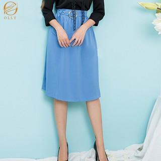 Chân váy xòe có đai OLLY_OCV19.003 thumbnail