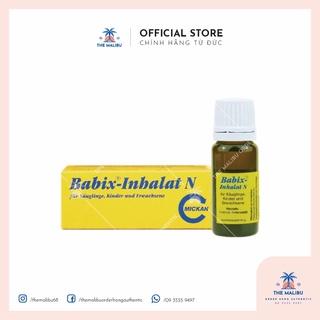 Tinh dầu chống cảm ho cảm cúm mũi họng Babix - inhalat N 10ml, Đức cho bé từ 4 tuần tuổi nhỏ giọt lên áo hoặc yếm c thumbnail