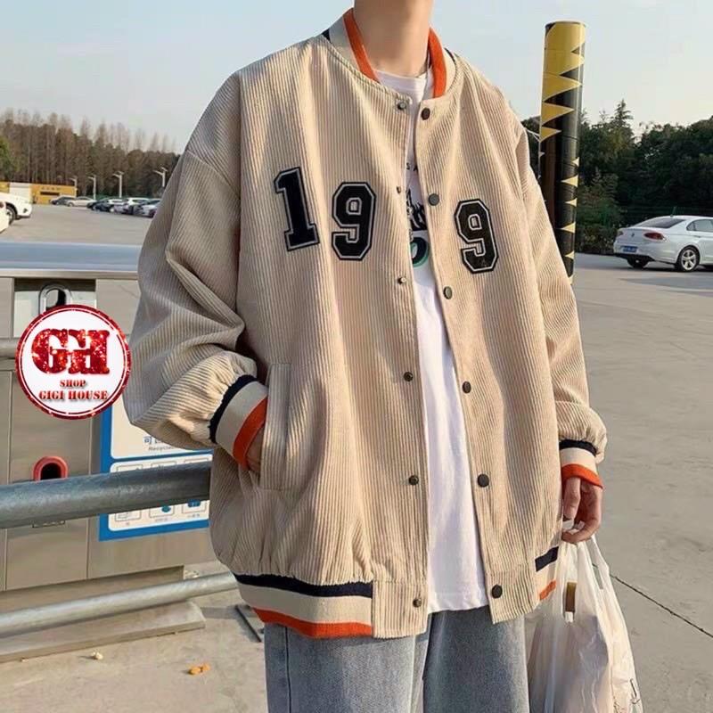 FREESHIP 50K - Áo Khoác Bóng Chày Bomber Jacket Form Rộng Unisex-AKNHUNGHINH1997
