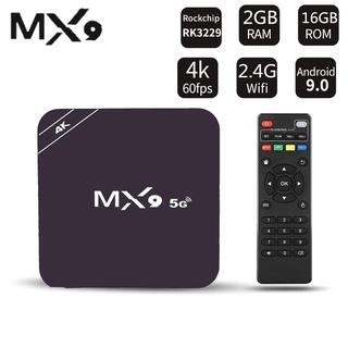 Đầu Tv Box Mx9, Android 4,4, 4k, Quad Core, 1gb Ram, 8gb Rom, 2,0 Hd, Hdmi, Sds, Slot, Wi-Fi 2.4ghz