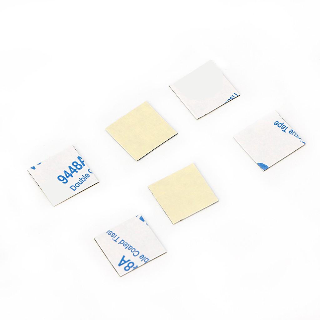 Set 50 miếng băng keo 2 mặt 14*14mm dành cho màn hình CPU tiện dụng
