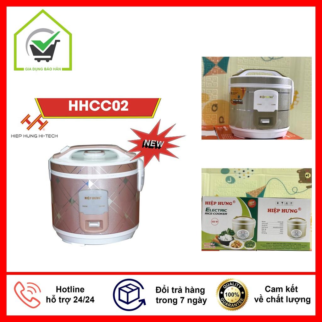 [HÀNG CHÍNH HÃNG] Nồi cơm điện cao cấp Hiệp Hưng HHCC02 1.2 Lít, bảo hành 12 tháng