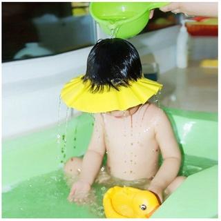 Mũ gội đầu chắn nước em bé che tai chống cay mắt thông minh Đồ dùng cho trẻ tiện lợi dễ sử dụng [NÓN TẮM EM BÉ] thumbnail