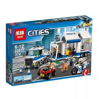 (HÀNG CÓ SẴN) Mẫu lắp ráp Tàu Cứu Hộ Và Bạch Tuộc Khổng Lồ Lepin 02017 Lego 60139