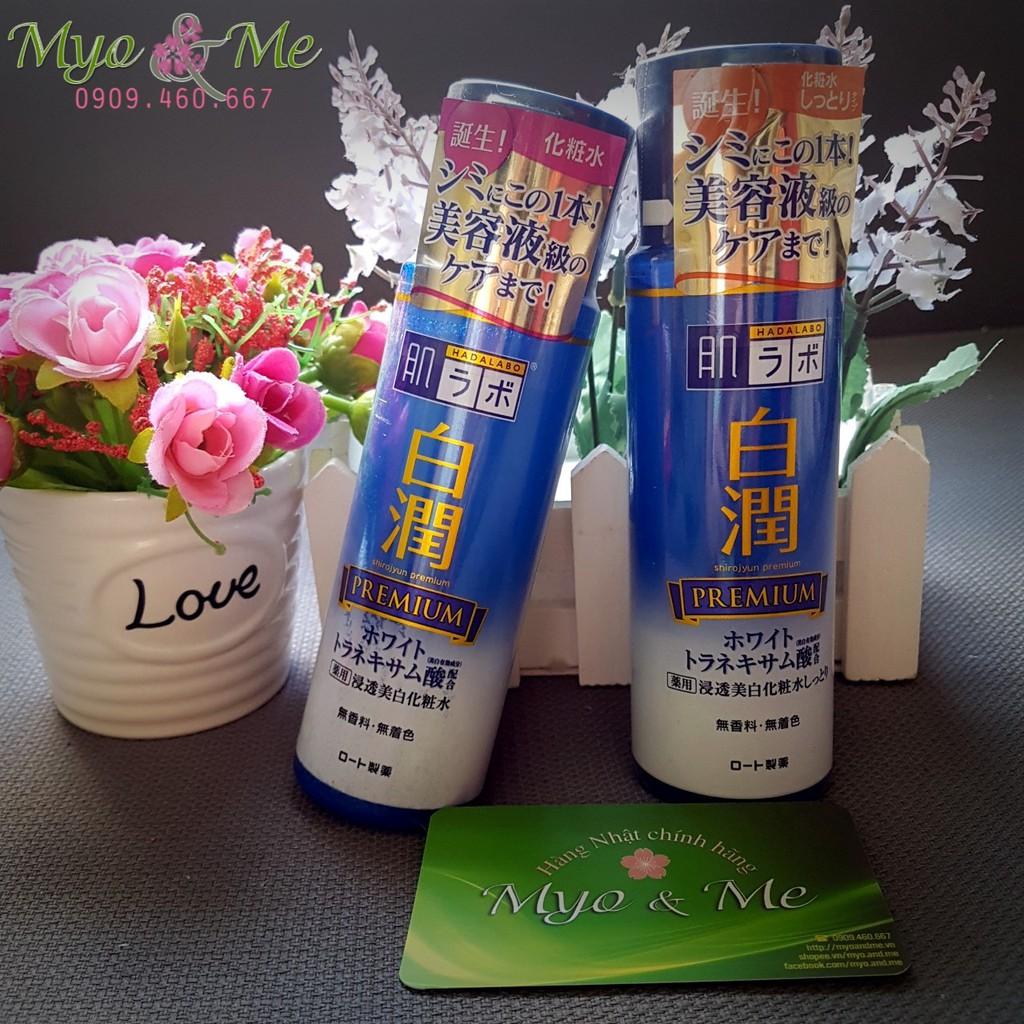 Nước hoa hồng dưỡng trắng da Hadalabo Shirojyun Premium - 2836066 , 89323181 , 322_89323181 , 280000 , Nuoc-hoa-hong-duong-trang-da-Hadalabo-Shirojyun-Premium-322_89323181 , shopee.vn , Nước hoa hồng dưỡng trắng da Hadalabo Shirojyun Premium