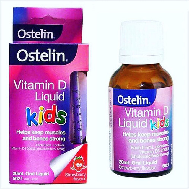 VitaminD Liquid Kid Dành Cho Trẻ