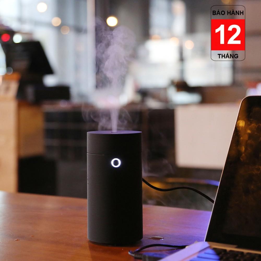 Máy Phun Sương Khuếch Tán Tinh Dầu USB Cho Xe Hơi Hàng Cao Cấp Sử Dụng Sóng Siêu Âm Kèm Tinh Dầu 10ml