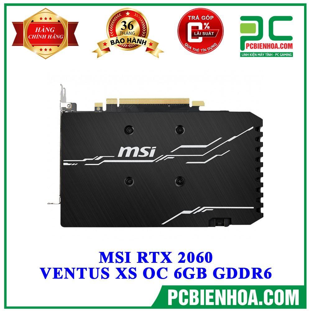 [Mã SKAMPUSHA7 giảm 8% đơn 250k]MSI RTX 2060 VENTUS XS OC 6GB GDDR6
