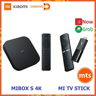 Android Tivi Box Xiaomi Mibox S MDZ-22-AB DIGIWORLD & Mi TV Stick MDZ-24-AA - Minh Tín Shop