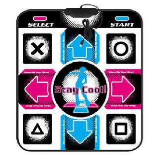 94×82.1cm Funny USB Non-Slip Dancing Step Dance Mat Pad for PC TV AV Video