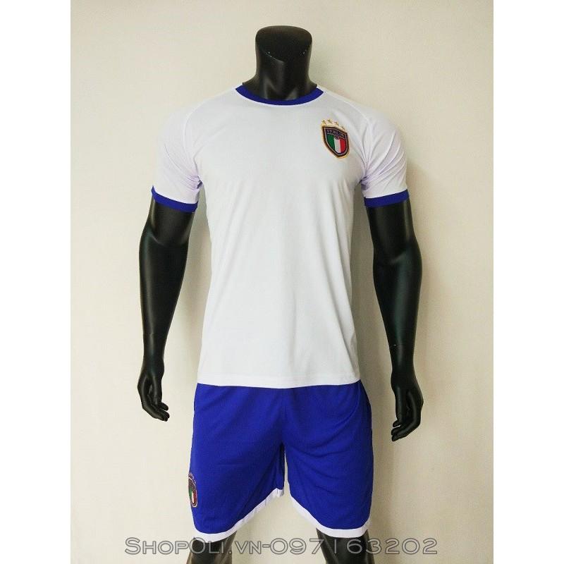 Quần áo bóng đá tuyển Ý sân khách 2018 màu trắng
